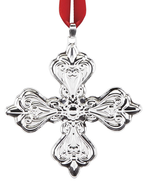 Reed & Barton Annual Cross Ornament 2019