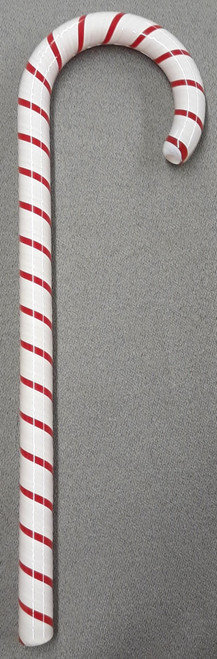 Tazza Candy Cane Ornament - Peppermint Red