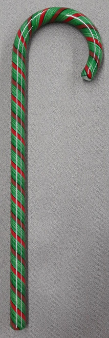 Tazza Candy Cane Ornament - Peppermint Green