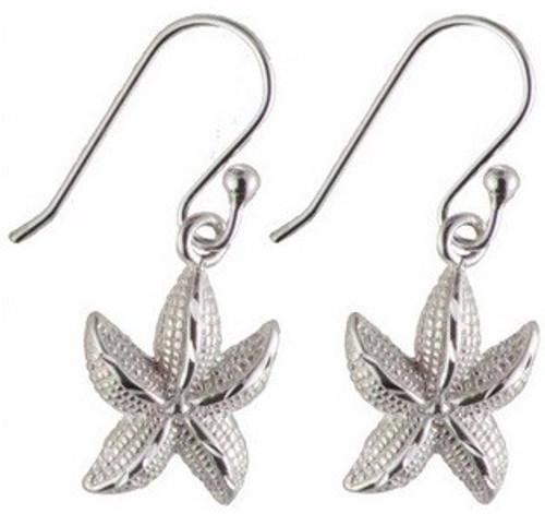 Oceano Jewelry Starfish Wire Earrings