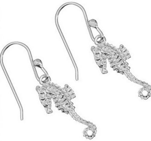 Oceano Jewelry Seahorse Wire Earrings