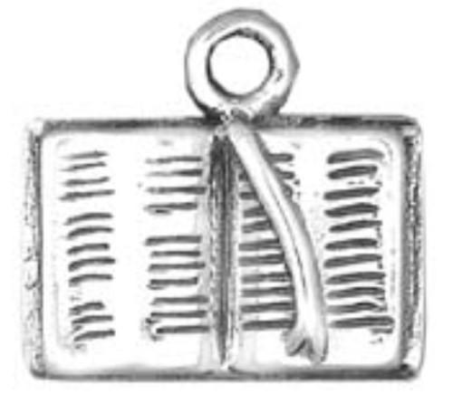 Hand & Hammer Bible Charm