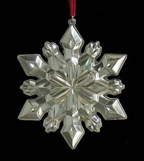 Gorham Annual Snowflake Ornament 2002