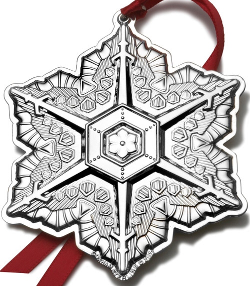 Gorham Annual Snowflake Ornament 2011
