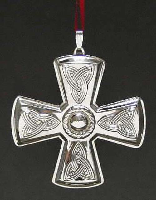 Reed & Barton Annual Cross Ornament 2003