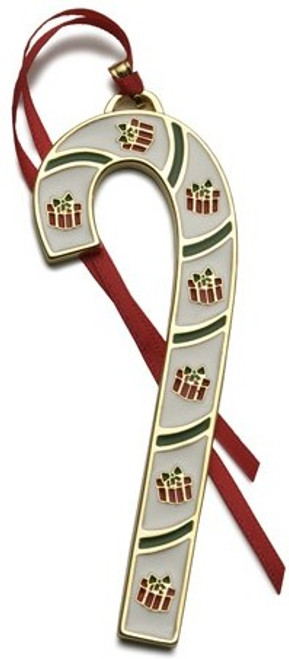 Wallace Annual Candy Cane Ornament 2008