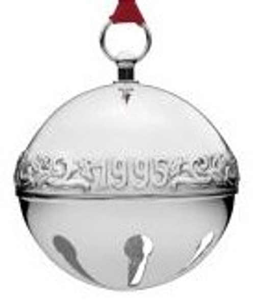 Wallace Annual Sleigh Bell Ornament 1995