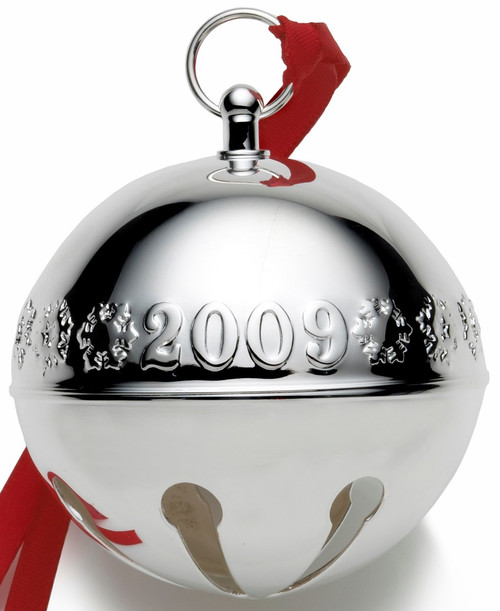 Wallace Annual Sleigh Bell Ornament 2009
