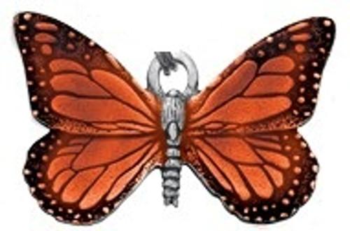 Danforth Orange Butterfly Ornament
