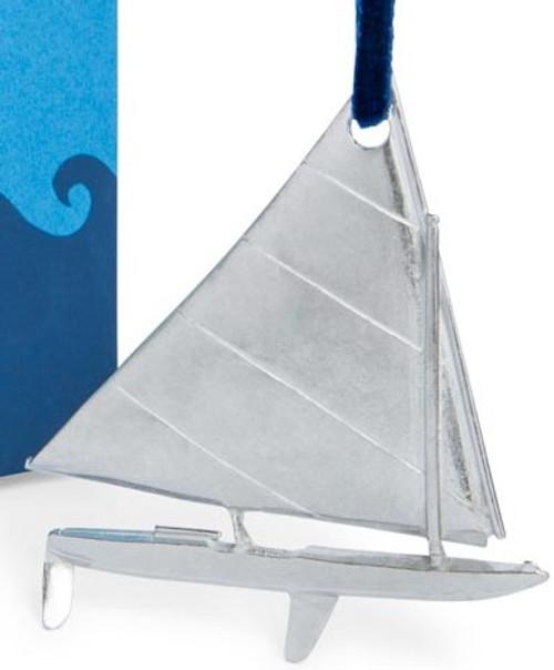 Danforth Sailboat Ornament