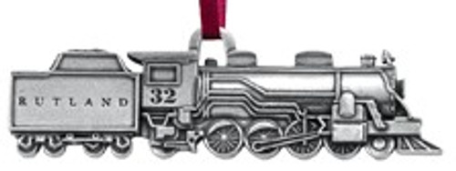 Danforth Rutland Train Ornament