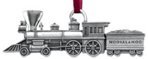 Danforth Moosalamoo Train Ornament