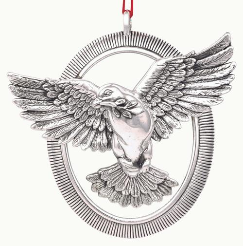 Barrett+Cornwall Annual Radiant Dove Ornament 2020