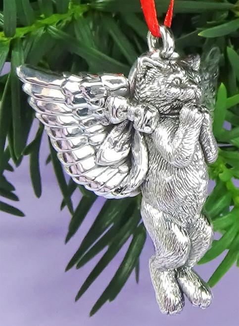 Cat of Mine Kitten Angel Ornament