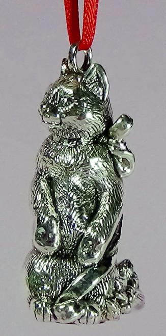 Cat of Mine Purr-fect Posture Kitten Ornament