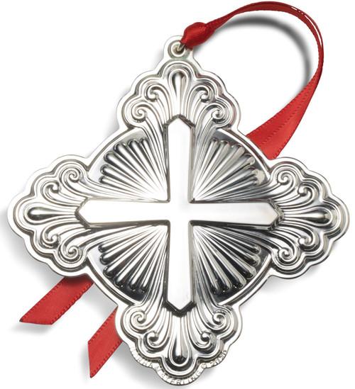 Gorham Annual Cross Ornament 2020