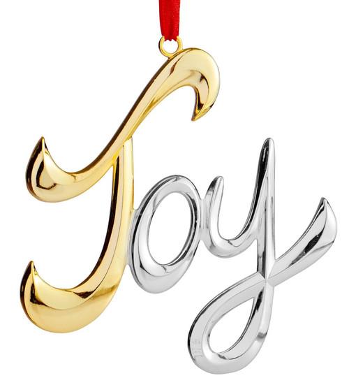 Nambe Joy Ornament