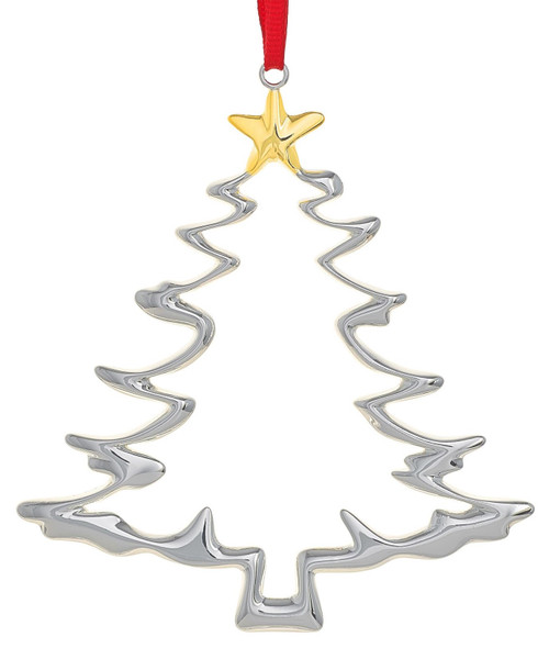 Nambe Christmas Tree Ornament