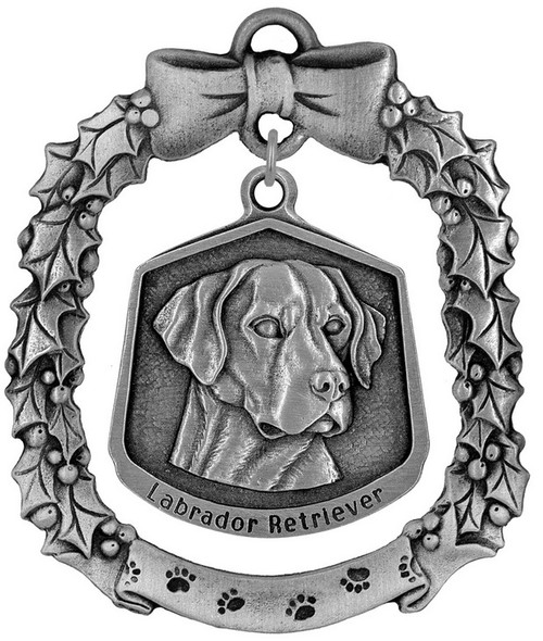 Hampshire Dog Ornament - Labrador Retriever