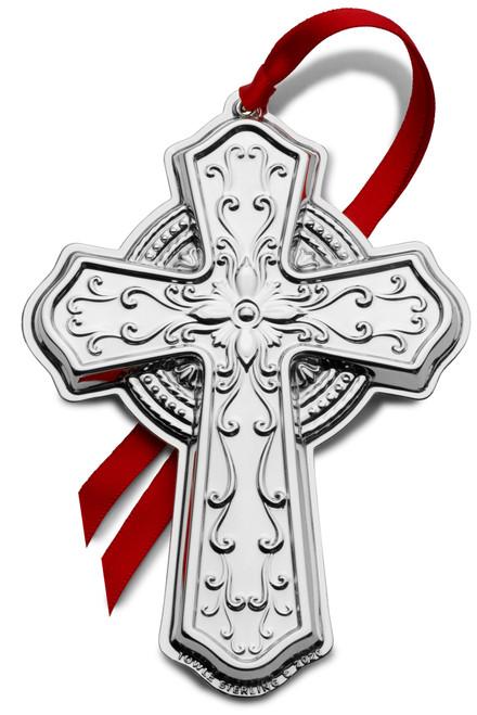 Towle Annual Cross Ornament 2020