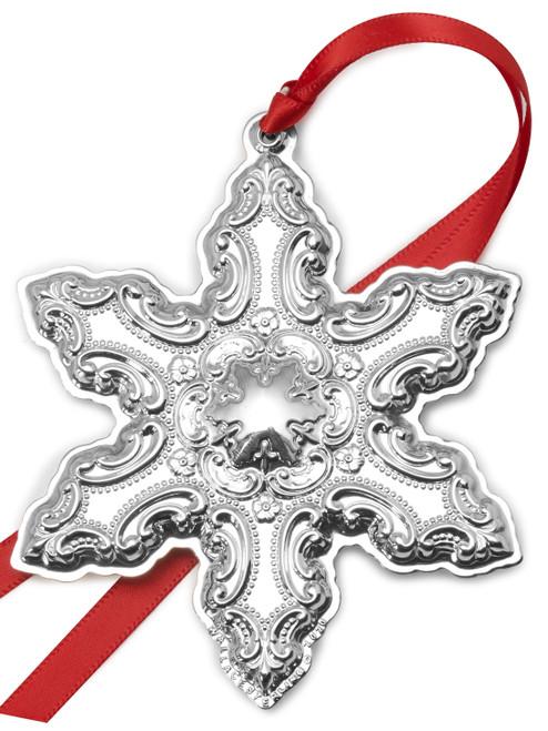Wallace Annual Grande Baroque Snowflake Ornament 2020