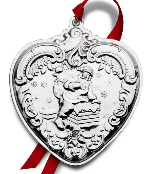 Wallace Annual Grande Baroque Heart Ornament 2020