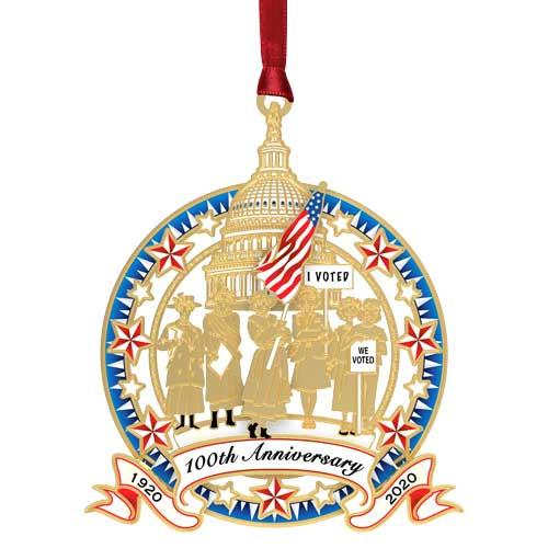 Beacon 100th Anniversary Women's Right to Vote Ornament