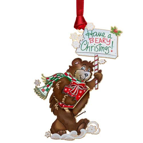Beacon Beary Christmas Ornament
