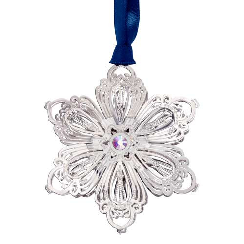 Beacon Blooming Snowflake Ornament 3D