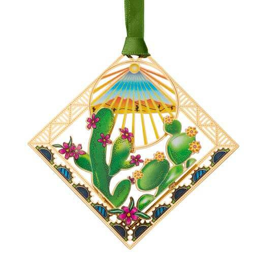 Beacon Blooming Cactus Flowers Ornament