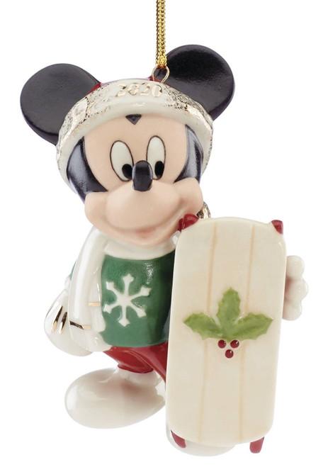 Lenox Disney Let It Snow Mickey Mouse Ornament 2020