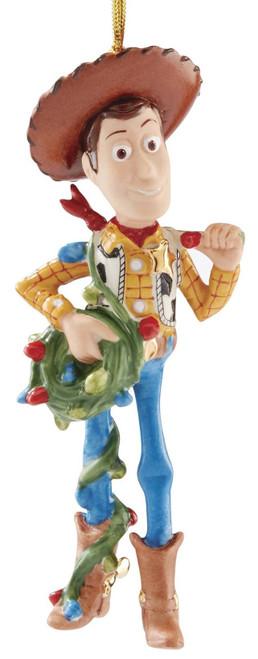 Lenox Disney Toy Story Woody's Christmas Cowboy Ornament
