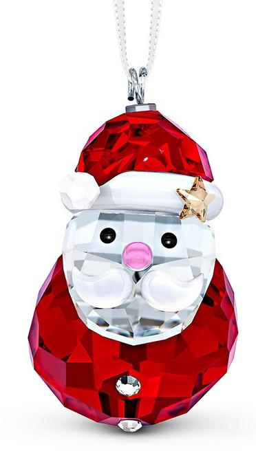 Swarovski Rocking Santa Ornament