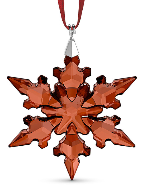 Swarovski Annual Red Snowflake Ornament 2020 - Mini