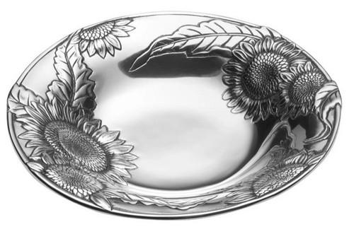 Wilton Armetale Sunflower Bowl