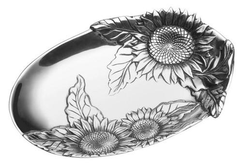 Wilton Armetale Sunflower Bread Tray