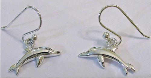 Oceano Jewelry Dolphin Wire Earrings