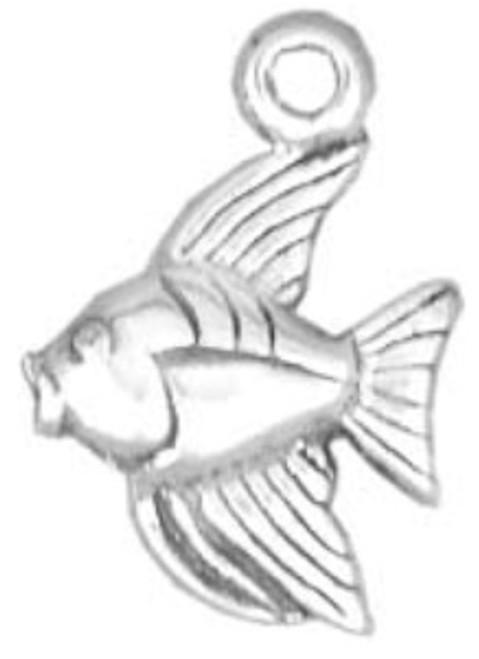 Hand & Hammer Angel Fish Charm