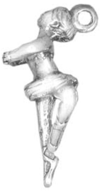 Hand & Hammer Ballerina Charm