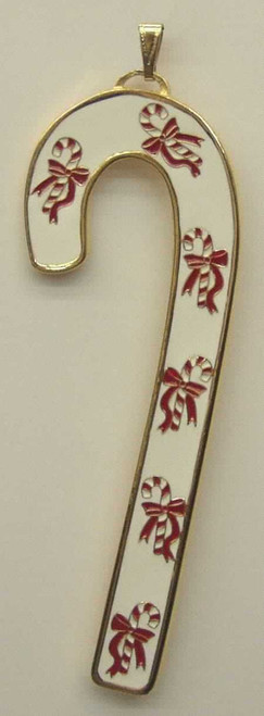 Wallace Annual Candy Cane Ornament 1994