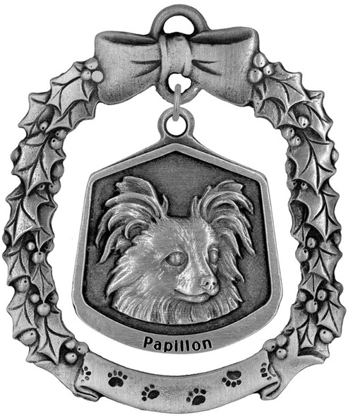 Hampshire Dog Ornament - Papillon