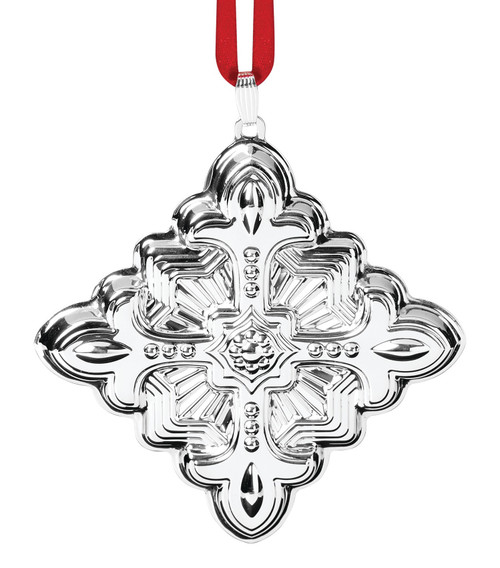 Reed & Barton Annual Christmas Cross Ornament 2021