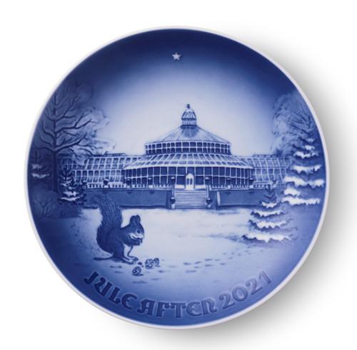 Bing & Grondahl Annual Christmas Plate 2021 - Botanical Garden