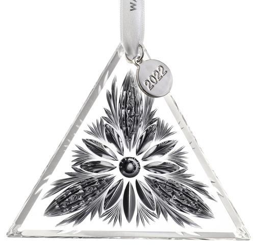 Waterford Times Square Panel Triangle Ornament 2022