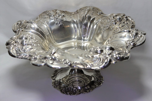 Reed & Barton Francis I Footed Compote Large