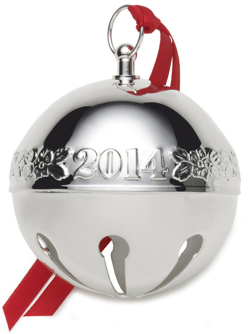 Wallace Annual Sleigh Bell Ornament 2014
