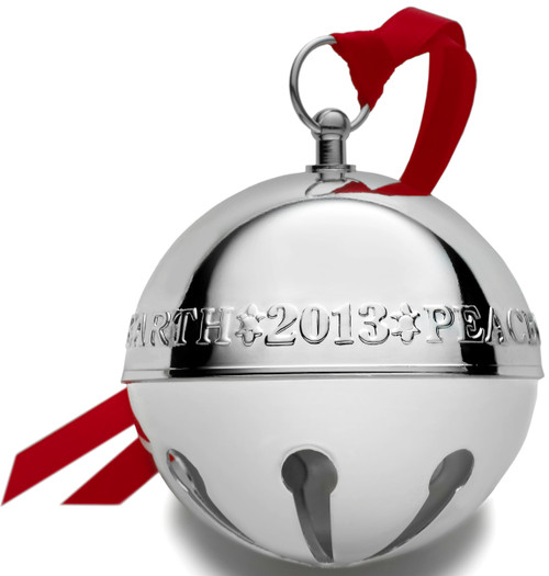 Wallace Annual Sleigh Bell Ornament 2013