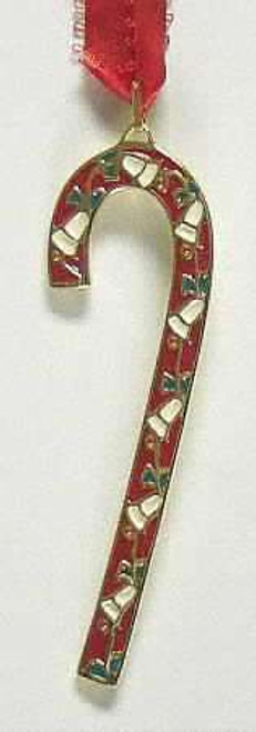 Wallace Annual Candy Cane Ornament 1986
