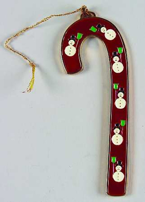Wallace Annual Candy Cane Ornament 1993