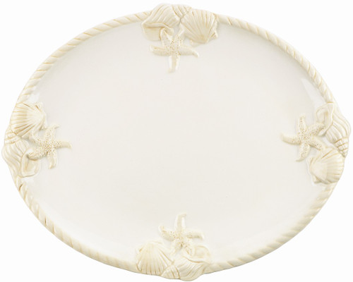 "Gorham Merry Go Round She Sells Seashells 11"" oval platter"